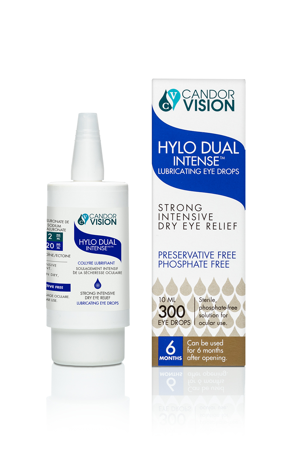 Hylo dual with Sodium Hyalouronate and Ectoine